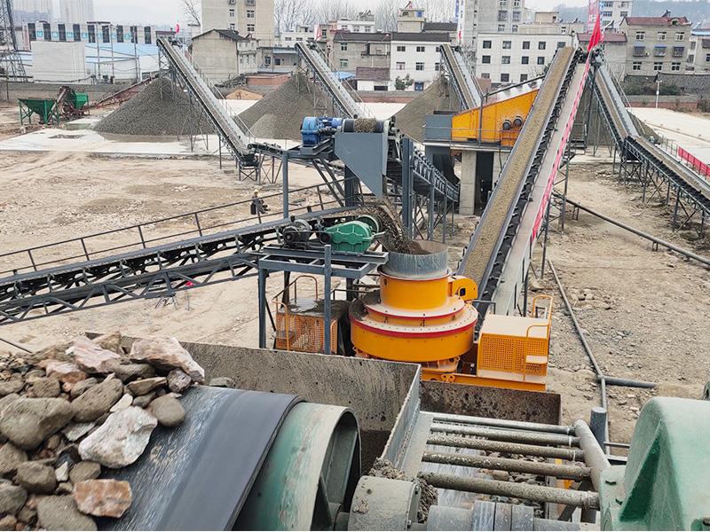 广东湛江时产300吨河卵石